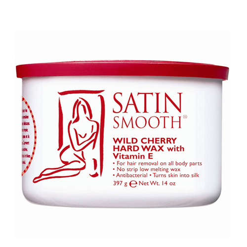 [SATIN SMOOTH] Wild Cherry Hard Wax (Hard Wax) -14oz