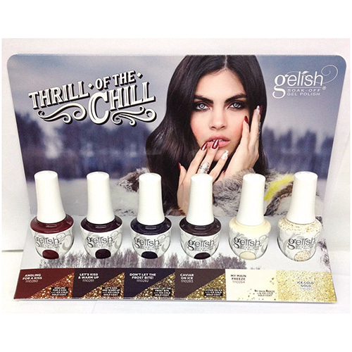 [Harmony Gelish] THRILL OF THE CHILL 2017 Collection 6pc (1110280~1110285)