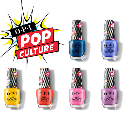 [OPI] Pop Culture Collection Summer 2018 Nail Lacquer 6pcs(NL P48~P53)