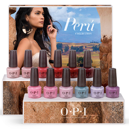 OPI 2018 PERU COLLECTION - NAIL LACQUER 12pcs(NL P30~P41)