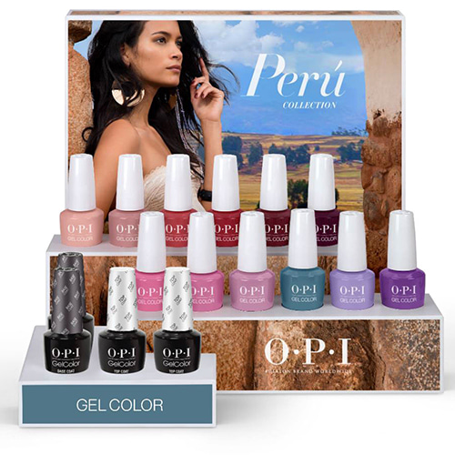 OPI 2018 PERU COLLECTION - GELCOLOR 12pcs(GC P30~P41)