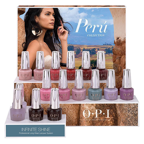 OPI 2018 Fall PERU COLLECTION - INFINITE SHINE 12pcs(ISL P30~P41)
