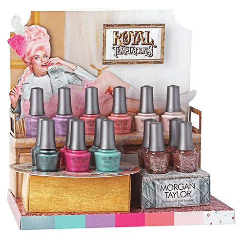 "Morgan Taylor 2018 ""Royal Temptations"" Collection 7pc (3110293~3110299)"