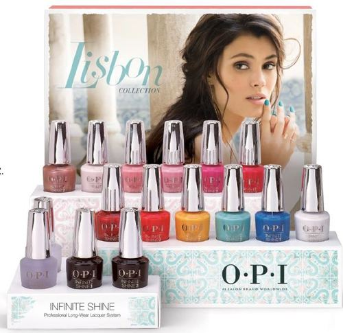 "OPI Infinite Shine ""Lisbon"" Collection 12pc (ISL L15~L26)"