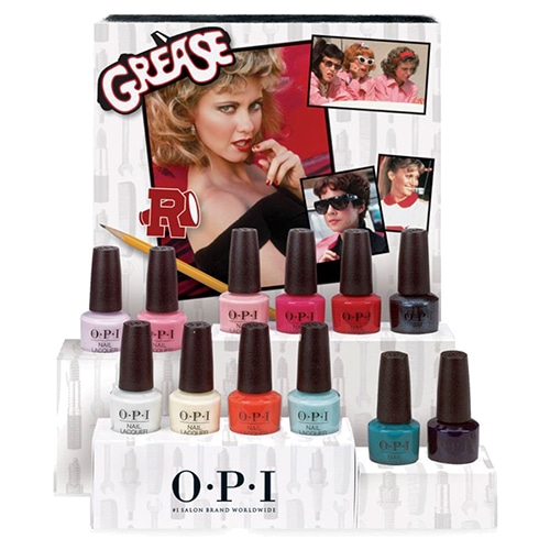 [OPI] 2018 GREASE COLLECTION - NAIL LACQUER 12pcs(NL G41~G52)