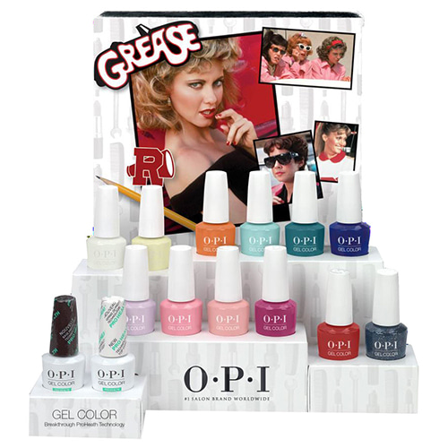 [OPI] 2018 GREASE COLLECTION - GELCOLOR 12pcs(GC G41~G52)