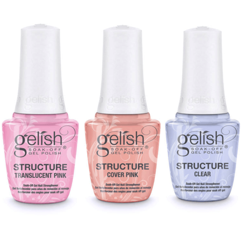 [HARMONY] Gelish Structure - TRANSLUCENT PINK, COVER PINK, CLEAR(1140004~1140006)