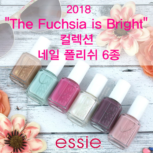 [essie]2018 The Fuchsia is Bright Collection 6pc Set- NAIL LACQUER(1173~1178)